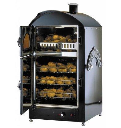 Neumarker Aardappel oven 100+100 Aardappelen - 590x590x(h)1200mm - 400V/6KW