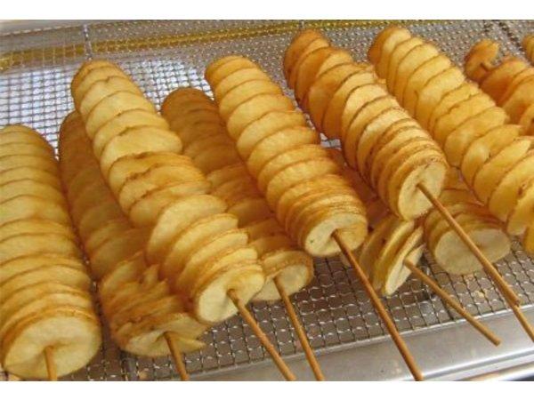 XXLselect Aardappel Twister Stokjes - Doos van 5000 stuks