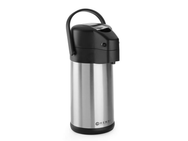 Hendi With pump - Stainless steel - 3 Litre