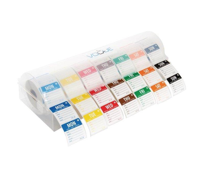 XXLselect Sticker dispenser Food labels Daglabels | 7 Roles