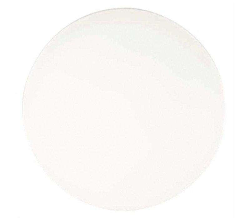XXLselect Plus-Werzalit runde Tischplatte Ø 800mm weiß