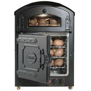 Neumarker Aardappel oven 50+50 Aardappelen - 510x540x(h)750mm - 230V/2.6KW
