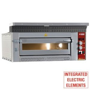 Diamond Pizza Oven Electric   6 pizzas Ø35cm   8,8kW   1070x1360x (H) 400mm