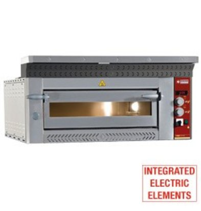 Diamond Pizza-Ofen Electric | 6 Pizzen Ø35cm | 8,8kW | 1070x1360x (H) 400mm