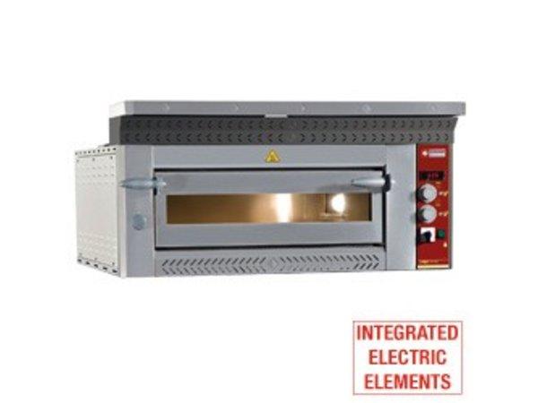 Diamond Pizza Oven Electric | 6 pizzas Ø35cm | 8,8kW | 1070x1360x (H) 400mm