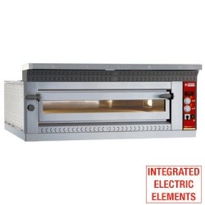 Diamond Pizza Oven Elektrisch XL | 6 Pizza's Ø35cm | 9kW | 1420x1010x(H)400mm