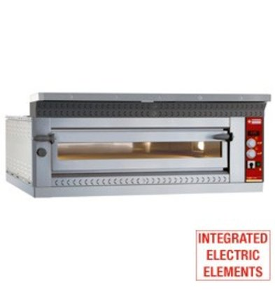 Diamond Pizza Oven Electric XL | 6 pizzas Ø35cm | 9kW | 1420x1010x (H) 400mm