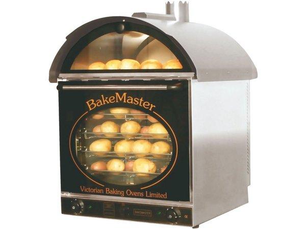 Neumarker Aardappel oven 60+60 Aardappelen - 660x600x(h)880mm - 230V/3KW