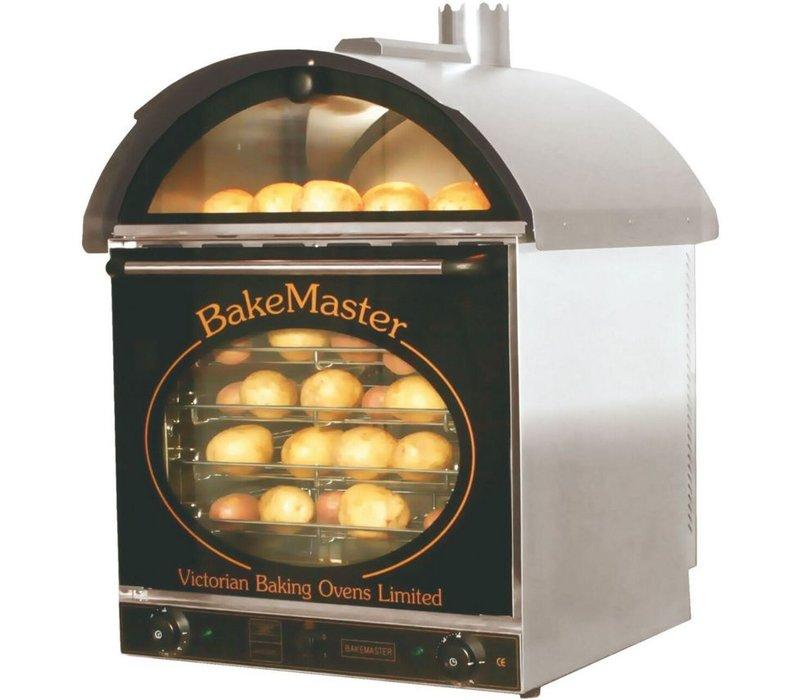 Neumarker Potato Ofen 60 + 60 Potatoes - 660x600x (H) 880 mm - 230 V / 3 kW
