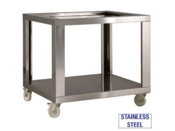 Diamond Stainless steel chassis Pizza Oven DILD9 / 35-N