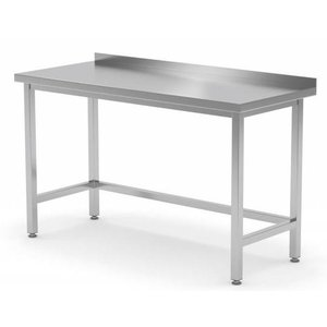 XXLselect Stainless steel workbench Without Bottom Shelf on Size - All kinds of stainless steel workbenches available in every size!