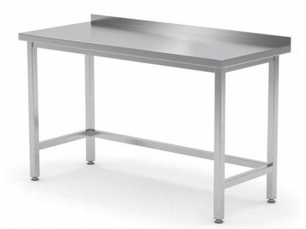 XXLselect Edelstahl-Werkbank ohne Grundboden auf Größe - alle Arten von Edelstahl-Arbeitstische in allen Größen!