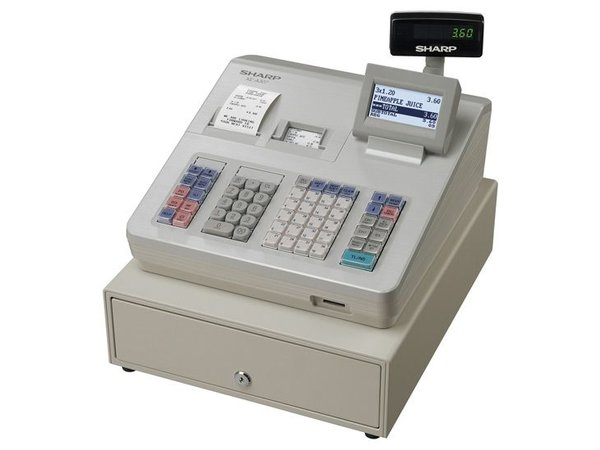 Sharp XE-A307 Sharp Registrierkasse - Thermodrucker (NO INK ERFORDERLICH) - 10.000 Produkte - Produkte 99