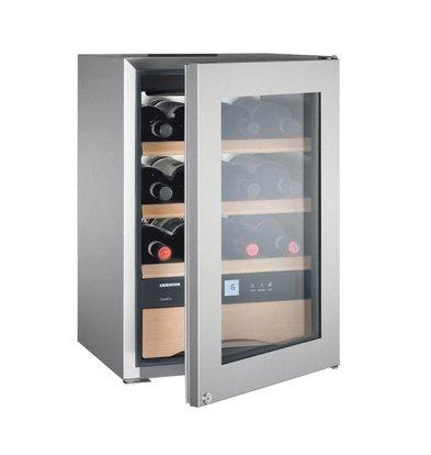 Liebherr Weinklimaschrank SS | 12 Flaschen Wein und Besteck / Schokolade La | Liebherr | 56 Liter | WKes 653 | 43x48x (h) 51 cm