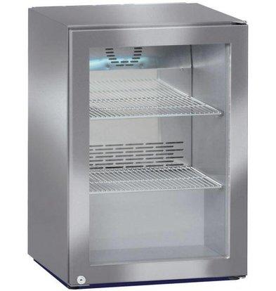 Liebherr Minibar Koelkast RVS | Glazendeur | Liebherr | 45 Liter | FKv 503 | 43x45x(h)61cm