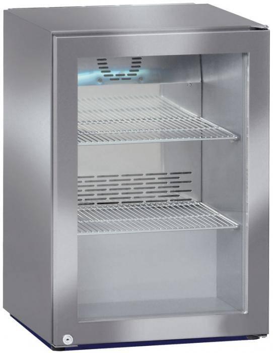 Liebherr Minibar Kühlschrank Edelstahl   Glastür   Liebherr   45 ...