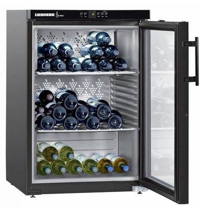 Liebherr Wein Kühlschrank Schwarz | 151 Flaschen | Liebherr | 66 Liter | WKB 1812 | 60x61x (h) 89cm