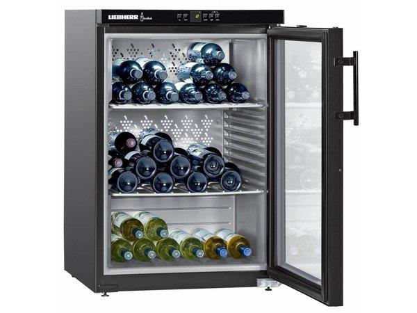 Liebherr Wine Fridge Black   151 Bottles   Liebherr   66 Liter   WKB 1812   60x61x (h) 89cm