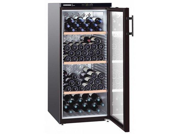 Liebherr Wine storage cabinet Black   164 Bottles   Liebherr   336 Liter   WKB 3212   60x74x (h) 135cm