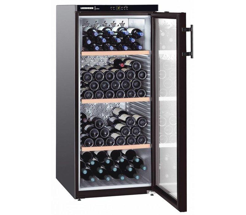 Liebherr Weinklimaschrank Black | 164 Flaschen | Liebherr | 336 Liter | WKB 3212 | 60x74x (h) 135cm