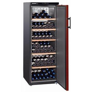 Liebherr Weinklimaschrank Schwarz / Burgund   200 Flaschen   Liebherr   409 Liter   WTR 4211   60x74x (h) 165cm
