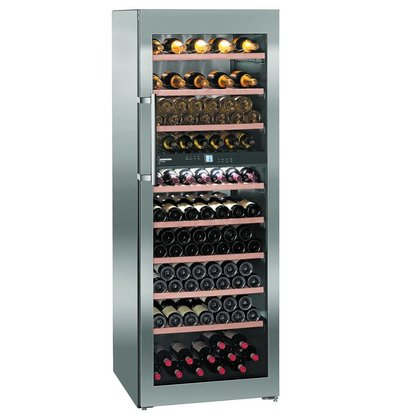 Liebherr Climate Wine Cupboard SS | 155 Bottles | Liebherr | 593 Liter | WTpes 5972 | 70x74x (h) 192cm