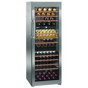 Liebherr Wijnklimaatkast RVS | 178 Flessen | Liebherr | 578 Liter | WTes 5872 | 70x74x(h)192cm