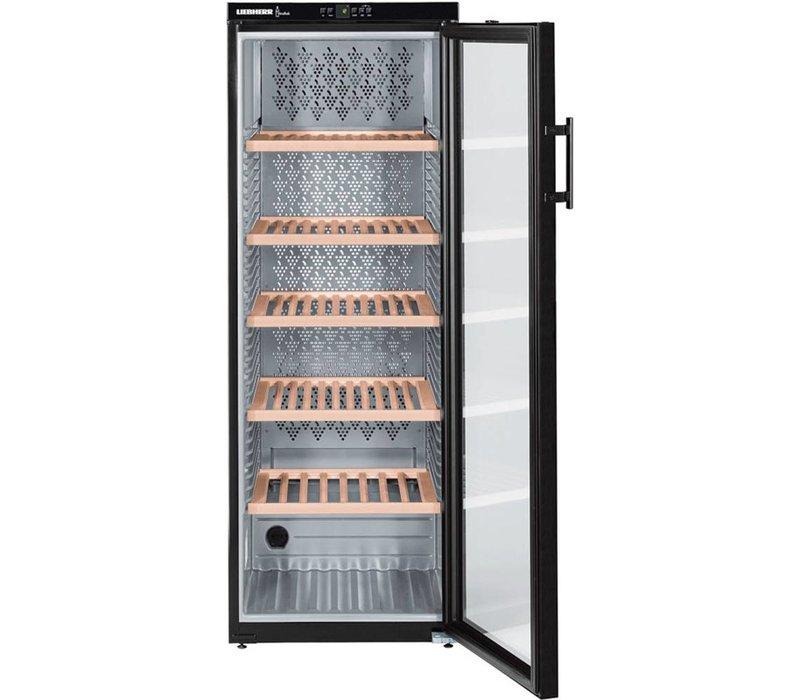 Liebherr Wine Climate Cabinet Black | 200 Bottles | Liebherr | 427 Liter | WTb 4212 | 60x74x (h) 165cm