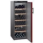 Liebherr Wijnkoelkast Zwart/Bordeaux Rood - Dichte Deur | 200 Flessen | Liebherr | 409 Liter | WKr 4211 | 60x74x(h)165cm