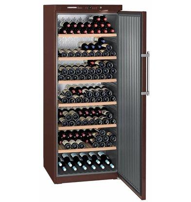 Liebherr Wijnkoelkast Terrakleur - Dichte Deur | 312 Flessen | Liebherr | 666 Liter | WKt 6451 | 75x76x(h)193cm