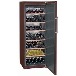 Liebherr Wijnbewaarkast Terrakleur - Dichte Deur | 253 Flessen | Liebherr | 547 Liter | WKt 5551 | 70x74x(h)192cm