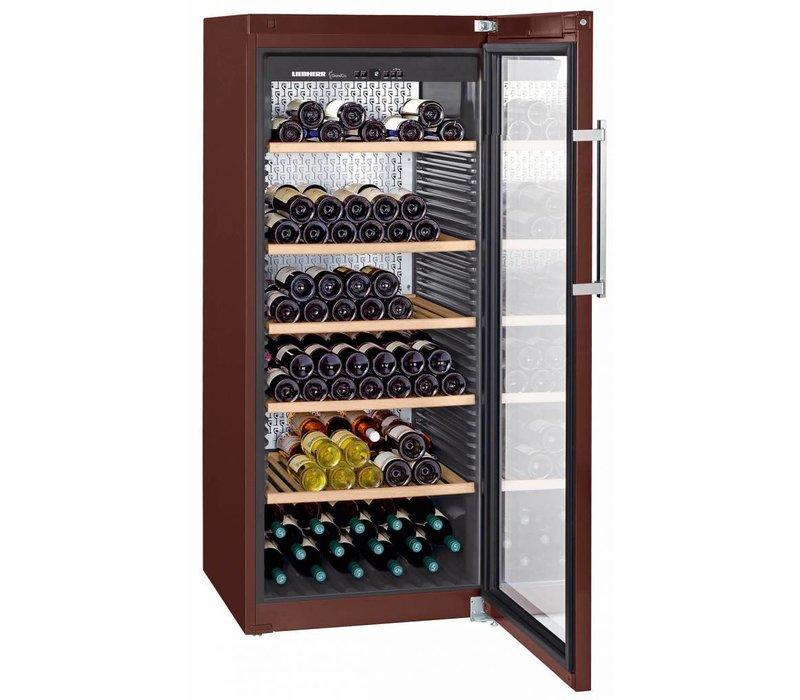 Liebherr Wijnklimaatkast Terrakleur | 201 Flessen | Liebherr | 478 Liter | WKt 4552 | 70x74x(h)165cm