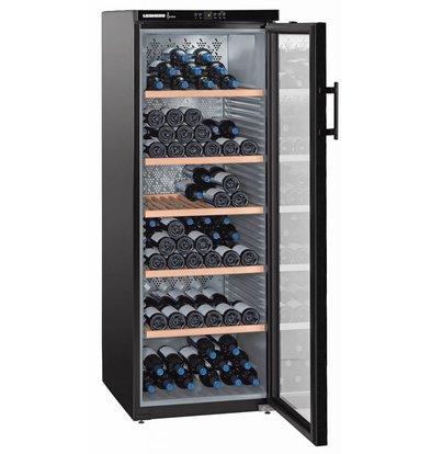 Liebherr Wine storage cabinet Black | 200 Bottles | Liebherr | 427 Liter | WKB 4212 | 60x74x (h) 165cm