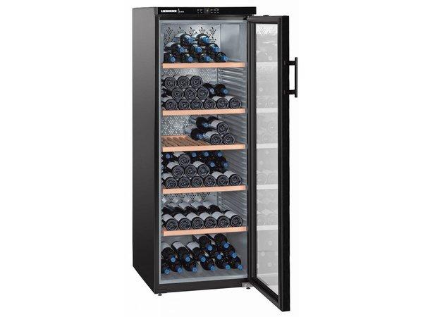 Liebherr Wijnbewaarkast Zwart | 200 Flessen | Liebherr | 427 Liter | WKb 4212 | 60x74x(h)165cm