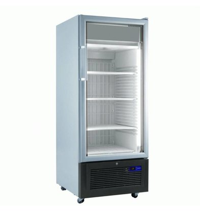 Liebherr Display Freezer White with Glass Door | Liebherr | 365 Liter | Fv 3613 | 67x73x (h) 196cm | with wheels