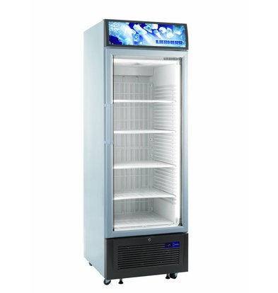 Liebherr Display Freezer White with Glass Door | Liebherr | 461 Liter | FDV 4613 | 67x73x (h) 199cm | with wheels
