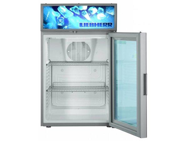 Kühlschrank Mit Glastür : Liebherr display kühlschrank mit glastür stahlgrau liebherr