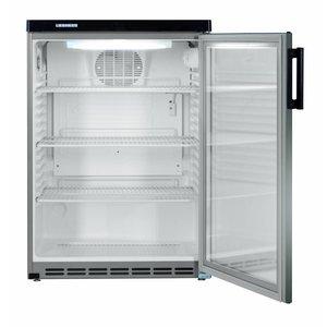 Liebherr Refrigerator Substructure Dynamic SS | Glass Door | Liebherr | 180 Liter | Fkvesf 1803 | 60x60x (h) 853cm