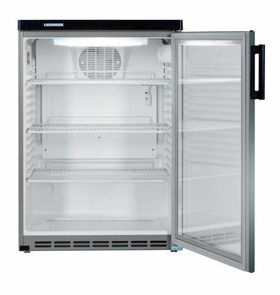 Liebherr Substructure Dynamic stainless steel refrigerator | Glass Door | Liebherr | 180 Liter | Fkvesf 1803 | 60x60x (h) 853cm