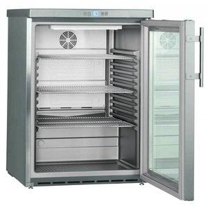 Liebherr Refrigerator Substructure Dynamic SS | Glass Door | Liebherr | 141 Liter | FKUv 1663 | 60x61x (h) 83cm
