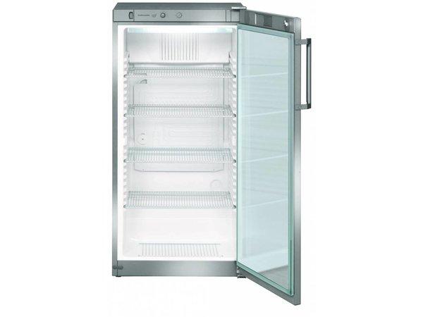 Kleiner Kühlschrank Ohne Gefrierfach Mit Glastür : Liebherr kühlschrank dynamische stahlgrau glastür liebherr