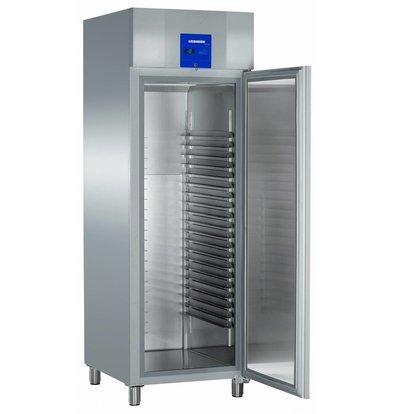 Liebherr Freezer Bakery standard stainless Profiline | 20 carrier rails - 400x600mm | Liebherr | 601 Liter | BGPv 6570 | 70x83x (h) 215cm