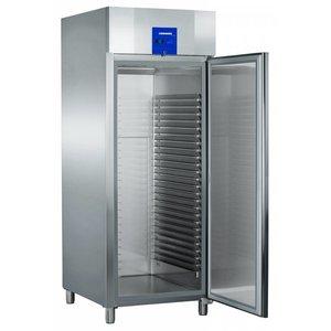 Liebherr Bakery standard stainless steel freezer ProfiLine | 25 carrier rails - 600x800mm | Liebherr | 677 Liter | BGPv 8470 | 79x98x (h) 215cm