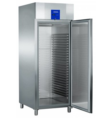 Liebherr Freezer Bakery standard stainless Profiline | 25 carrier rails - 600x800mm | Liebherr | 856 Liter | BGPv 8470 | 79x98x (h) 215cm