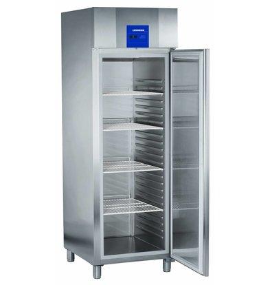 Liebherr Bäckerei Standard-Edelstahl-Kühlschrank Profi | 20 Tragschienen - 400x600mm | Liebherr | 601 Liter | BKPv 6570 | 70x83x (h) 215cm