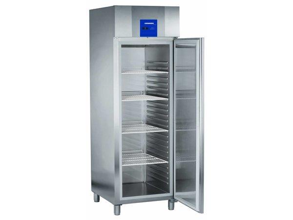 Liebherr Bäckerei Standard-Edelstahl-Kühlschrank Profi   20 Tragschienen - 400x600mm   Liebherr   601 Liter   BKPv 6570   70x83x (h) 215cm