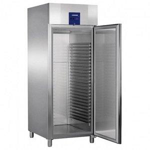 Liebherr Bäckerei Standard-Edelstahl-Kühlschrank Profi | 25 Tragschienen - 600x800mm | Liebherr | 677 Liter | BKPv 8470 | 79x98x (h) 215cm