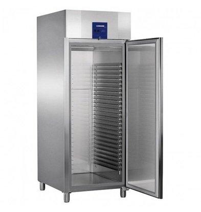 Liebherr Bakery standard stainless steel refrigerator ProfiLine | 25 carrier rails - 600x800mm | Liebherr | 856 Liter | BKPv 8470 | 79x98x (h) 215cm