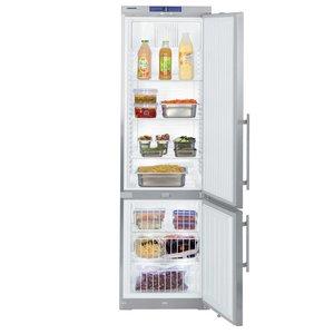 Liebherr Koel/Vriescombinatie RVS Gastronomie | Liebherr | 254 Liter / 107 Liter | GCv 4060 | 60x61x(h)200cm
