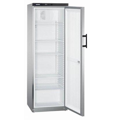 Liebherr Kühlschrank Steelgray Gastronomie | Kleine 60cm breit | Liebherr | 445 Liter | Gkvesf 4145 | 60x61x (h) 180cm